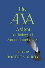 The ALVA Axiom Anthology of Author Interviews