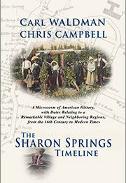 The Sharon Springs Timeline